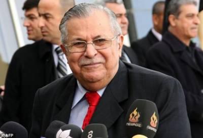 سابق عراقی صدر جلال طالبانی انتقال کر گئے ، ان کی عمر 84 برس تھی۔