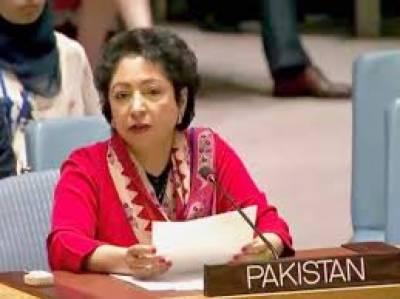 اگر لائین آف کنٹرول پر کوئی چھیڑخانی کی گئی تو پاکستان جوابی اقدام کے طور پر بھارتی جارحیت کا موثر جواب دے گا: ڈاکٹر ملیحہ لودھی
