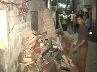 لاہور:2 منزلہ رہائشی عمارت گرنے سے خاتون جاں بحق