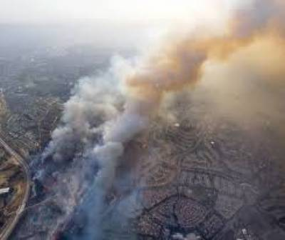 امریکی ریاست کیلی فورنیا میں جنگلات میں لگنے والی آگ سے ہلاکتوں کی تعداد 29 تک پہنچ گئی