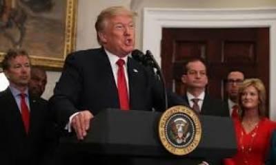 صدر ٹرمپ نے پھر سے اوباما ہیلتھ کیئربل میں ترمیم کا ایگزیکٹو آرڈر جاری کر دیا