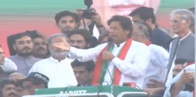 چیئرمین تحریک انصاف عمران خان نے ایک بار پھر سڑکوں پر آنے کا اعلان کردیا