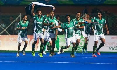 ایشیا کپ ہاکی ٹورنامنٹ میں پاکستان کا میچ روایتی حریف بھارت سے ہوگا