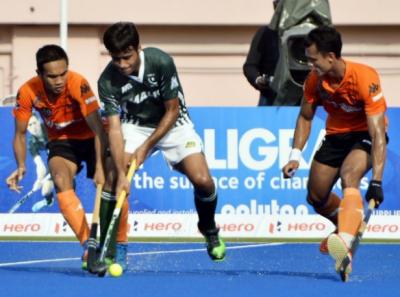 ایشیا ہاکی کپ کے سپرفور مرحلے میں ملائشیا نے پاکستان کودو کے مقابلے میں تین گول سے شکست دے دی