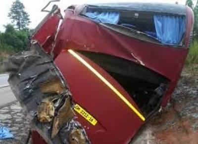 ملائیشیا کی شمالی ریاست پینانگ میں دو بسوں کے مابین تصادم کے باعث8 افراد ہلاک اور 33 زخمی ہو گئے