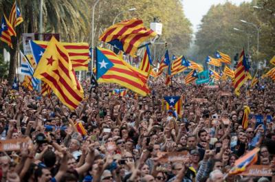 کاتالونیا نے سپین سے علیحدگی کا اعلان کردیا