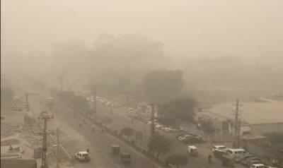 لاہور سمیت پنجاب کے مختلف شہروں میں سموگ نے شہریوں کا سانس لینا دشوار کر دیا