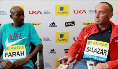 چار بار اولمپک چیمپئن ایتھیلیٹ محمد فرح نے اپنے کوچ البرٹو سالازرسے وابستگی ختم کر کےاپنے آبائی ملک برطانیہ واپس آ نے کا فیصلہ کر لیا