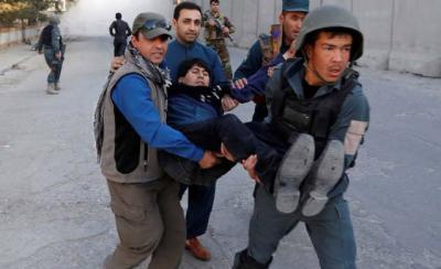 افغان دارالحکومت کابل کے سفارتی زون میں خودکش دھماکہ, چودہ افراد جاں بحق اورتیرہ زخمی ہوگئے