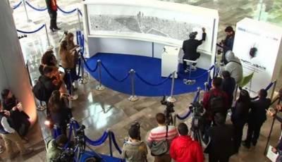 ایک ماہر آرٹسٹ نے منفرد انداز سے میکسیکو سٹی کا نقشہ اپنی یادداشت میں محفوظ کرکے دلچسپ اسکیچ بنا ڈالا