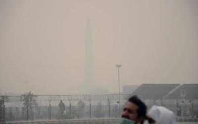 لاہور سمیت پنجاب کا ماحول آلودہ،،فضا میں سموگ کا راج برقرار