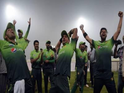 پاکستان ایک بار پھر ٹی ٹونٹٰی کی عالمی درجہ بندی میں پہلے نمبرآگیا۔