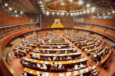 نئی حلقہ بندیوں پر آج بھی پارلیمانی رہنماؤں میں اتفاق نہ ہو سکا