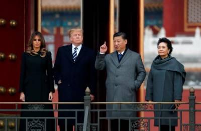 امریکی صدر پانچ وسط ایشیائی ممالک کے دورے کے دوران چین پہنچ گئے
