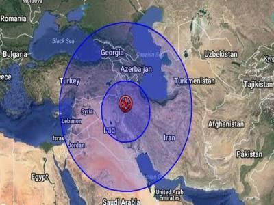 ایران اور عراق سمیت مشرق وسطیٰ کے ممالک میں 7.3 شدت کا زلزلہ