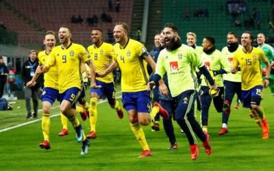 فٹ بال ورلڈ کپ 4 مرتبہ اپنے نام کرنے والی اٹلی کی ٹیم تاریخ میں پہلی بار ایونٹ کے لئے کوالیفائی کرنے میں ناکام ہوگئی