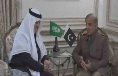 وزیراعلیٰ محمد شہبازشریف سے سعودی عرب کے سفیر نواف سعید المالکی کی ملاقات ،باہمی دلچسپی کے امور، تعلقات, مختلف شعبوں میں تعاون بڑھانے پرتبادلہ خیال