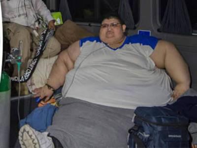 دنیا کا سب سے وزنی شخص زیر علاج