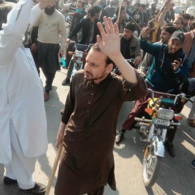 فیض آباد آپریشن کے خلاف سوہاوہ میلاد چوک میں احتجاج کی تیاریاں شروع
