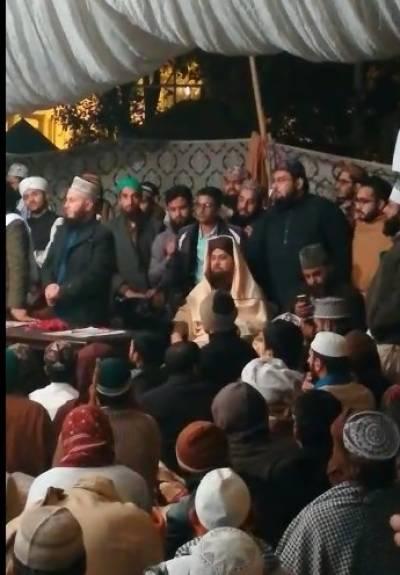 اسلام آباد میں دھرنے کے خلاف آپریشن کے بعد پنجاب بھر میں مظاہروں کا سلسلہ جاری ہے،