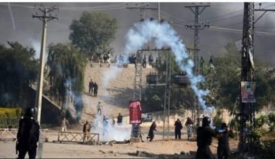 اسلام میں دھرنا مظاہرین کے خلاف آپریشن کے بعد صورتحال بدستور کشیدہ ہیں،