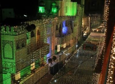جشن عیدمیلاالنبی ﷺ آج ملک بھر میں مذہبی جوش و جذبے سے منائی جائے گی