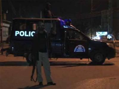 کراچی: اے بی سینا لائن کے قریب مبینہ پولیس مقابلے میں ایک ڈاکو ہلاک