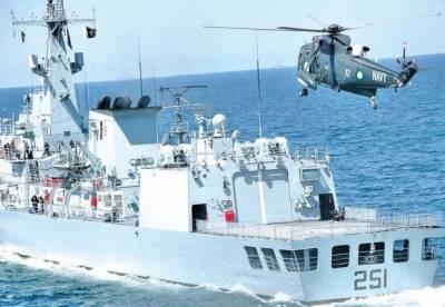پاک بحریہ نے خلیج عدن میں کشتی کے عملے کو بچالیا