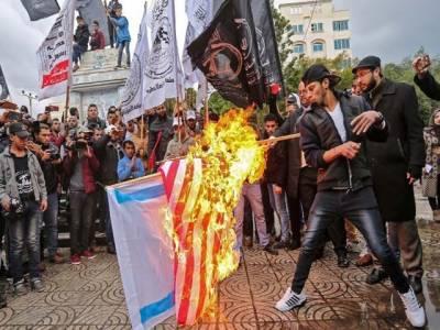 امریکا کا امن کی ثالثی کا کردار ختم ، قیام امن کی کاوشیں تباہ ہو گئی ہیں۔ فلسطینی صدر