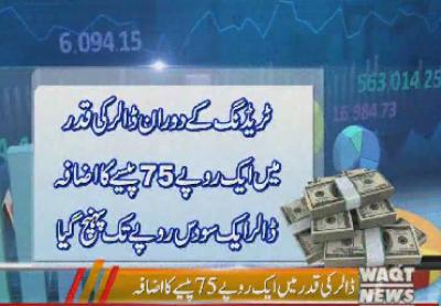 انٹر بینک مارکیٹ میں روپے کی قدر میں کمی کا سلسلہ جاری