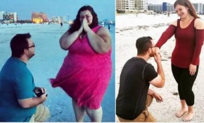 شادی شدہ جوڑے نے 180 کلو وزن کم کرکے دنیا کو حیران کردیا