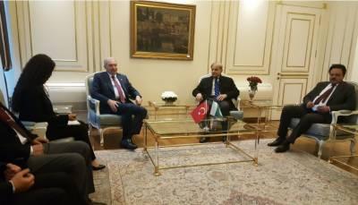 وزیر اعلیٰ پنجاب شہباز شریف کی استنبول کے میئر میلوت یوسال سے ملاقات ۔
