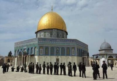 قدامت پسند یہودیوں کی جانب سے مقبوضہ بیت المقدس میں مسجد اقصیٰ کی بے حرمتی