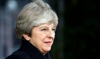 29مارچ2019 کو برطانیہ پوری طرح یورپی یونین کو خیرباد کہہ دےگا۔تھریسامے