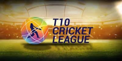 ٹی ٹین لیگ میں کل ہونے مقابلوں میں پنجابی لیجنڈز نے کیرالہ کنگز کو8وکٹوں میں ہرا دیا