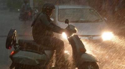 کراچی:کھارادر،صدر،آئی آئی چندریگرروڈاوراطراف میں بارش