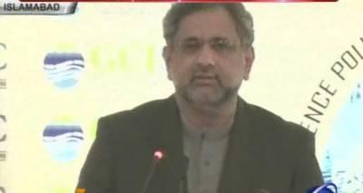 انسان کو اس وقت سب سے بڑاچیلنج ماحول کا درپیش ہے، پاکستان اس سنجیدہ چیلنج سے بخوبی لڑرہا ہے : شاہد خاقان عباسی