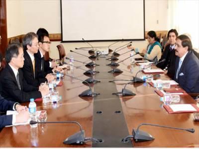 جاپانی سفیر برائے بین الاقوامی تعاون برائے انسداد دہشتگردی کی ناصر خان جنجوعہ ملاقات