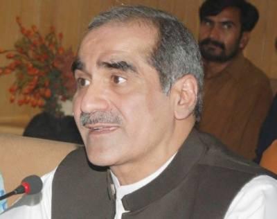 ملک میں جمہوریت کےساتھ باربارکھلواڑ کیاگیا، پاکستان مزیدسانحات کامتحمل نہیں ہوسکتا, وزیر ریلوے خواجہ سعد رفیق