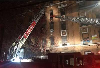 نیویارک کے برونکس میں اپارٹمنٹ میں آگ لگنے سے 12 افراد ہلاک: میئر
