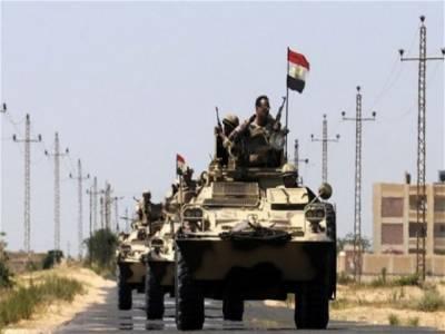 مصر کے علاقے سینائی میں سڑک کنارے نصب بم کا دھماکا، سینیئر فوجی افسر ہلاک