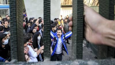یورپی ممالک میں مقیم ایرانی باشندوں کے ایرانی حکومت کے خلاف مظاہرے