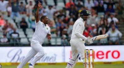 جنوبی افریقہ نے بھارت کو پہلے ٹیسٹ میں شکست دیدی