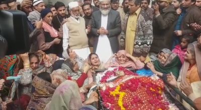 Siraj ul Haq Reached At The Home Who Was Killed By A Police Firing In The Protest At Kasur.