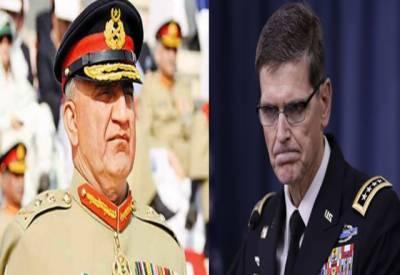 پاکستان امریکا سے امداد کی بحالی کا نہیں کہے گا، جنرل باجوہ کا امریکی جنرل کو جواب