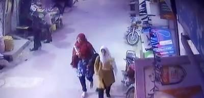 زینب قتل کیس میں ملوث مبینہ ملزم کی سی سی ٹی وی فوٹیج حاصل کرلی