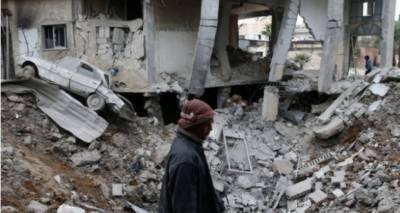شام کے دارالحکومت دمشق میں باغیوں کے زیرانتظام محصور علاقے میں ایک بار بھرکلورین گیس کا حملہ,
