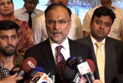 وفاقی وزیر داخلہ احسن اقبال کا کہنا ہے کہ آج ڈوبتا ہوا پاکستان ابھرتا ہوا پاکستان ہے