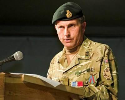 روس سےجنگ توقع سےبھی پہلےممکن ہے،سربراہ برطانوی فوج
