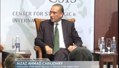افغانستان کےمسائل پرپاکستان قربانی کابکرانہیں بنےگا،امریکامیں پاکستانی سفیر